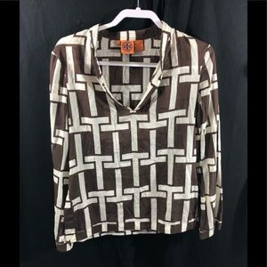 Tory Burch Pull Over Top Size 8